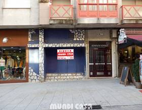 premises rent in a coruña province