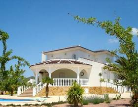villas sale in pinoso