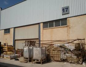 industrial warehouses sale in l´ alcora